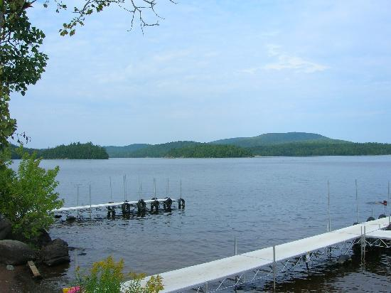 Tupper Lake, Нью-Йорк: View from the little beach