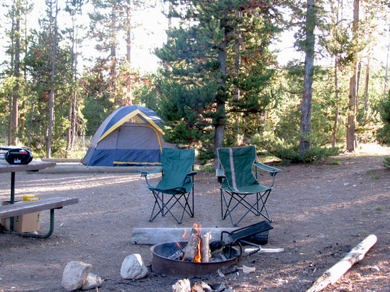Photo of Indian Creek Campground Yellowstone National Park