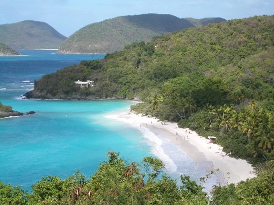 Cruz Bay, Saint-John : Trunk Bay, St John
