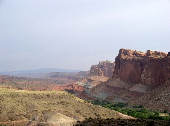 Parc national de Capitol Reef, UT : Capital Reef National Park, UT