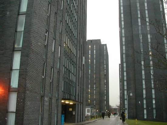 Colchester, UK: First up, the University of EssexQuite pretty...if you wanted to live on an inner-city council