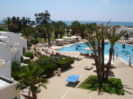 Hotel Riu Palace Hammamet Marhaba: View From Room