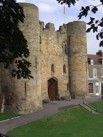 Tonbridge, UK : Tunbridge Castle, Kent, England 