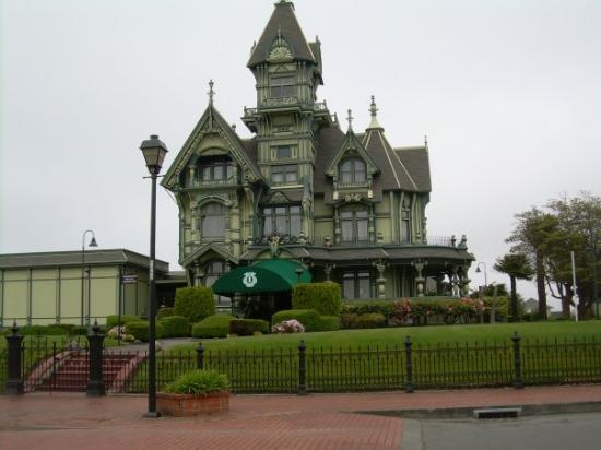 Carson Mansion Eureka Ca Picture Of Carson Mansion