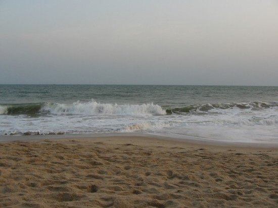 Lagos, Nigeria: A view of the beach