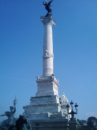 A monument to the Girondins, cente of Bordeaux