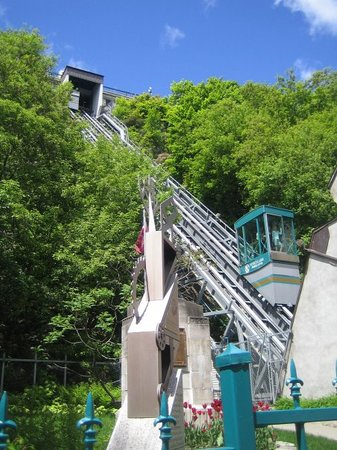 Qubec (Stadt), Kanada: Funicular!!