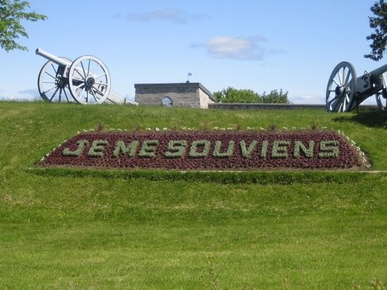 Qubec (Stadt), Kanada: &quot;Je me souviens&quot;  I will remember....
