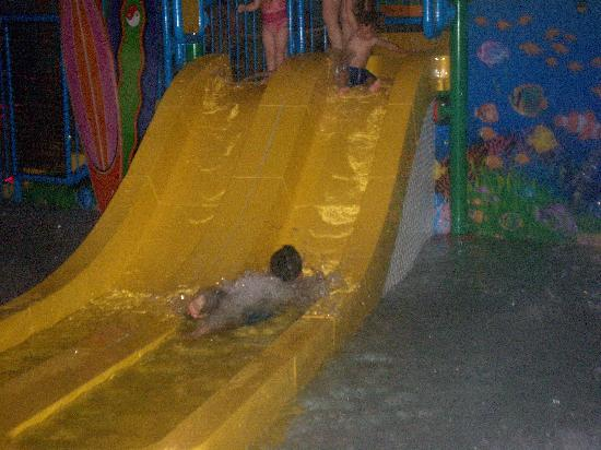 Mount Laurel, NJ: he went down this slide at least 100 times