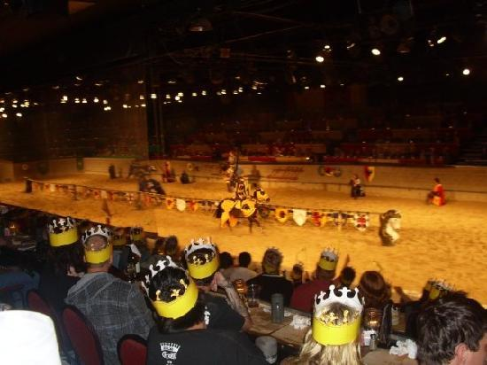 Take a day out of the ordinary and prepare for the wonderful dinner and show experience that is Medieval Times Dinner & Tournament! Watch in wonder as you are transported back in time to watch the chivalry and valor of six knights unfold before your very eyes/5.