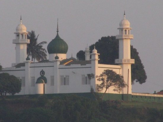 Mosque on a hill in Kampala, Uganda