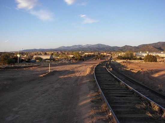 Santa Fe, Nuevo Mexico: incomplete Sante Fe Rail Trail