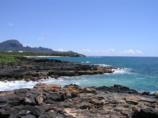 Koloa, : Shipwreck Beach