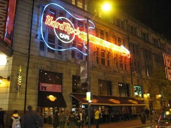 Hard Rock Cafe Manchester Restaurant Reviews Phone
