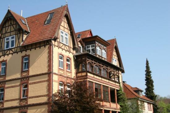 Bad Hersfeld, Germany: A beautiful example of old German architecture.