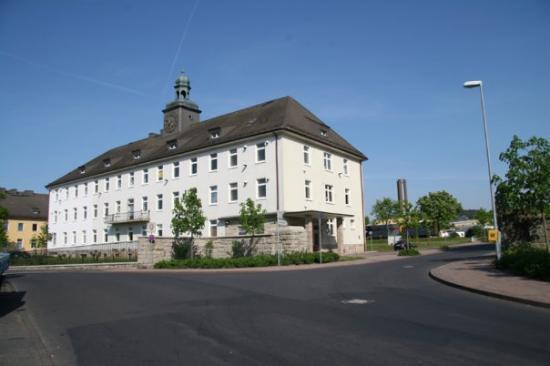Bad Hersfeld, Germany: This was once the headquarters building of the 3/11 ACR (Armored Cavalry Regiment).