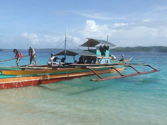 Tagaytay, Philippinen: Banca Boat, typical island hopping transportation