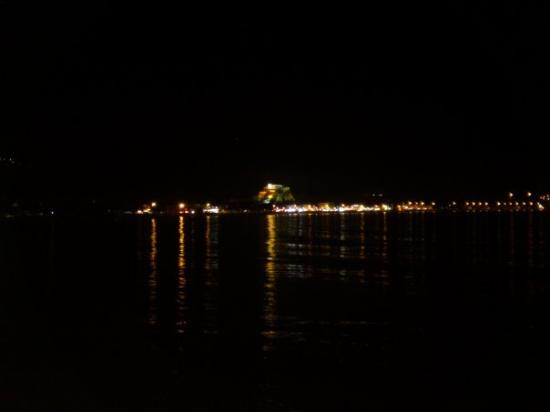 Mytilene, Greece:  BY NIGHT