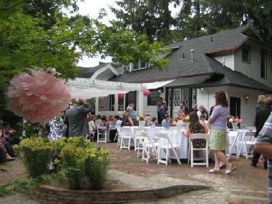 Forest Springs Bed and Breakfast: At the wedding