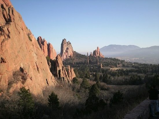 Woodland Park, CO: Garden of the gods