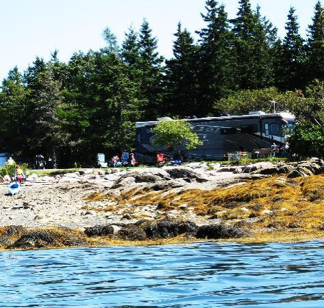 Bar Harbor Campground KOA: First-class site spoiled by no-class manager