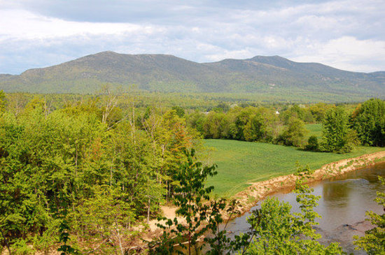 North Conway, Nueva Hampshire: Saco river