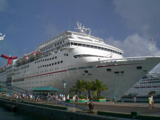 Port Of Nassau Bahamas Our Cruising Ship Carnival Sensation  Picture Of P