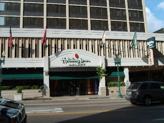 Holiday inn select memphis near beale street picture of for New hotels in memphis tn