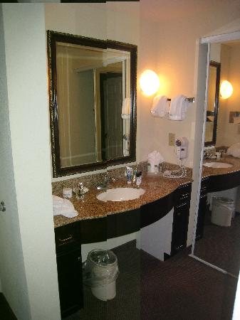 Homewood Suites Charleston - Mt Pleasant: lavabo dans la chambre