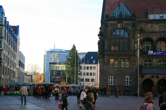 Germany  - Chemnitz, Market Place