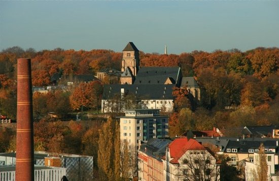 Germany  - Chemnitz, View about the City