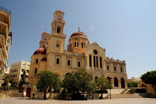 Heraklion, Grekland: Iraklion, Agios Minas.