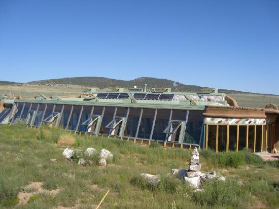 Earthship Biotecture: Corner Cottage - Outside