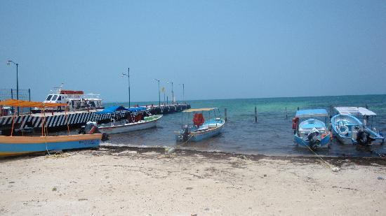 Puerto Juarez, Мексика: View from Mandinga
