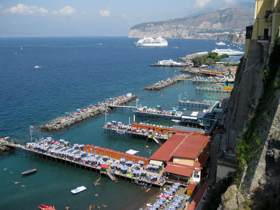 Sorrente, Italie : Bay at Sorrento 