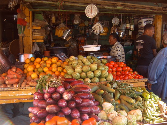 Santo Domingo, Dominican Republic: mercato domenicano