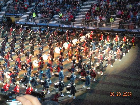 Edinburgh Military Tattoo. Fantastic performances and highly enjoyable at