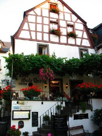 Beilstein, Germany: the outside of Hotel Gute Quelle