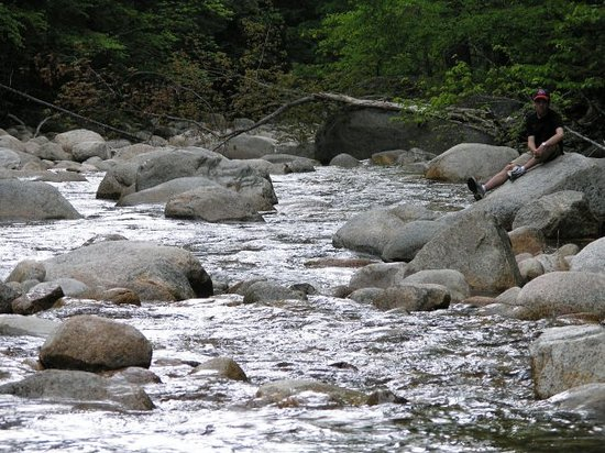 North Conway, NH: New Hampshire stream