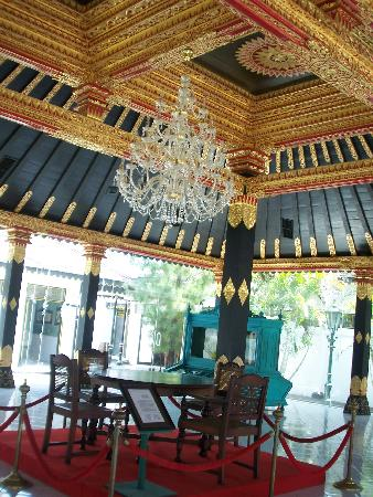 Kraton (Keraton): the most decorated room on view at the palace