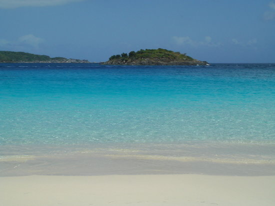 Caneel Bay, St. John: View off Turtle Bay Beach