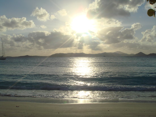 Caneel Bay, St. John: Another sunset