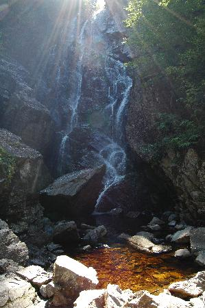 Rangeley, ME: angel falls