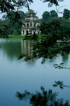 Hano, Vietnam : Turtle Pagoda, Hanoi 