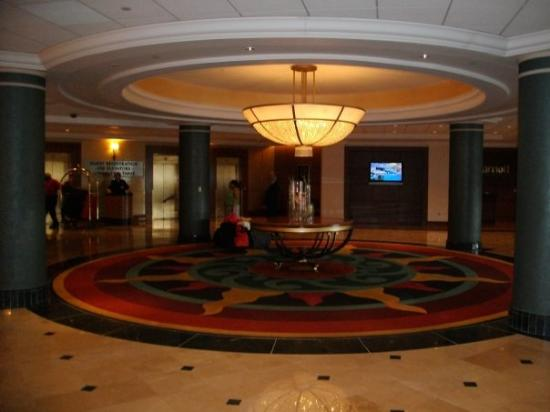Marriott Hotel Lobby Picture Of Detroit Marriott At