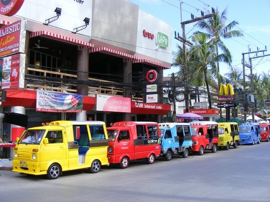 Patong, Thailand: Tuk Tuks ahoy!