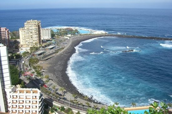 ‪‪Puerto de la Cruz‬, إسبانيا: one bay of Puerto de la Cruz‬