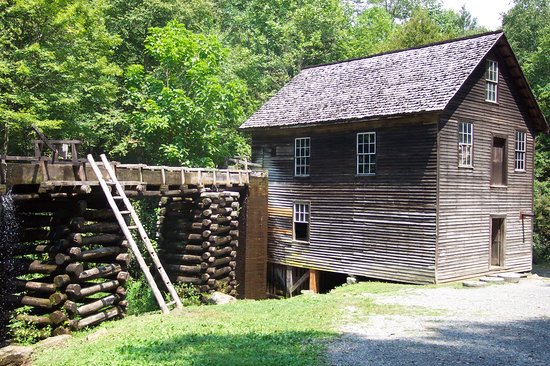 Great Smoky Mountains National Park, TN: smoky setlers houses