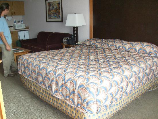 Shilo Inn Suites Seaside East: Bed