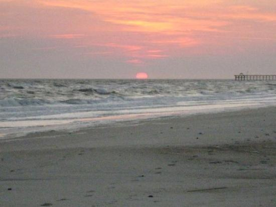 Oak Island, NC: My view every night!
